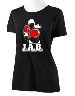 Womens cut available for all J.A.B. designs