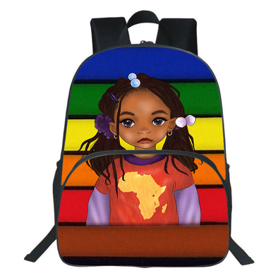 Vintage Style Pride Be A African Lovely Black Daughter Backpack