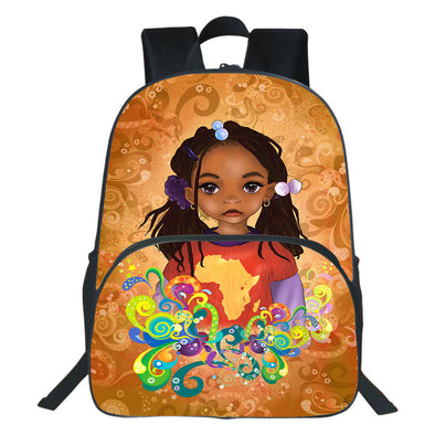 Natural Style Pride Be A African Cute Black Daughter Backpack
