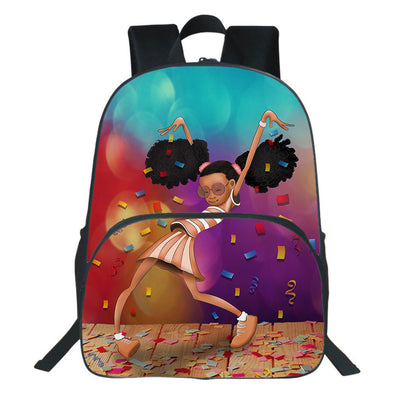 Afro Black Girl Excellent Performance Backpack