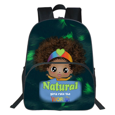 Natural Girl Rule The World Backpack