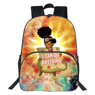 I Can Do Anything Black Girl Backpack