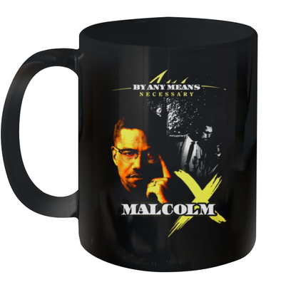 Black Icons Malcolm X Mug