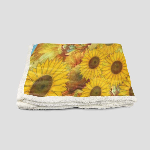 I'm A Little Multi Color- Black Girl Sunshine Fleece Blanket