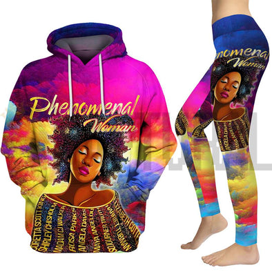 Black History Phenomenal Woman All Over Apparel