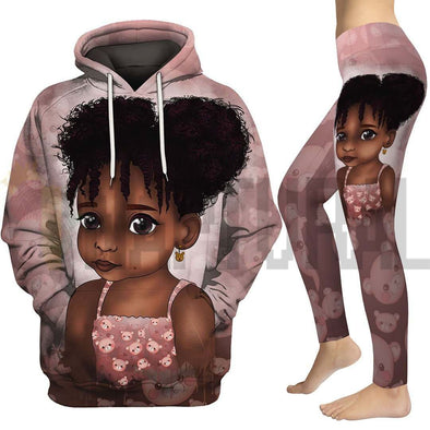 Afro Adorable Black Daughter All Over Apparel