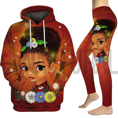 Bright Smart Afro Daughter All Over Apparel