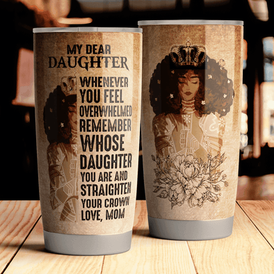 Queen Crown Daughter Tumbler
