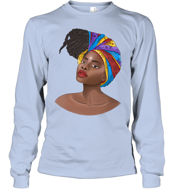 Natural Africa Loves - African Headwraps Dreadlocks Hair Women Youth Long Sleeve
