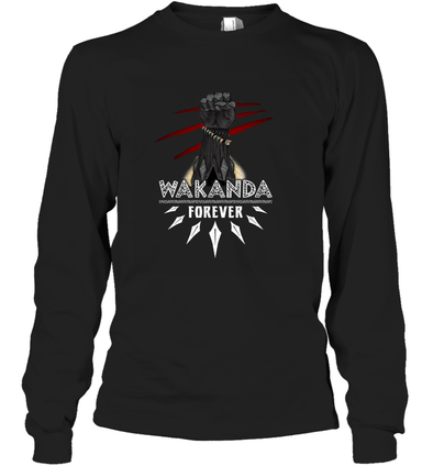 Wakanda Forever Long Sleeve T-Shirt