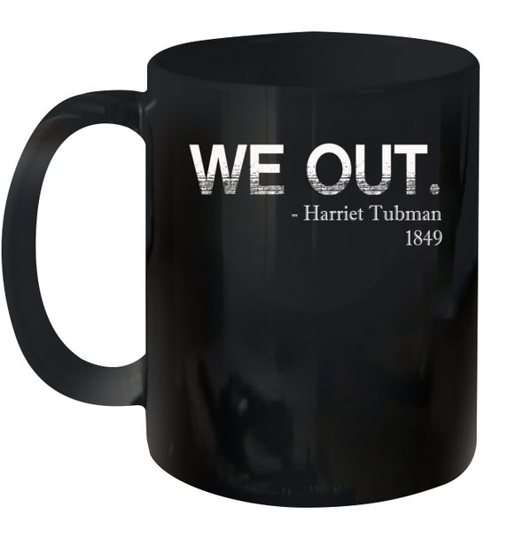 Black Month History WE OUT Mug