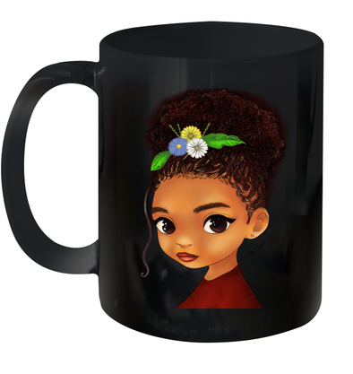 Bright Smart Afro Daughter African American Daughter Mug