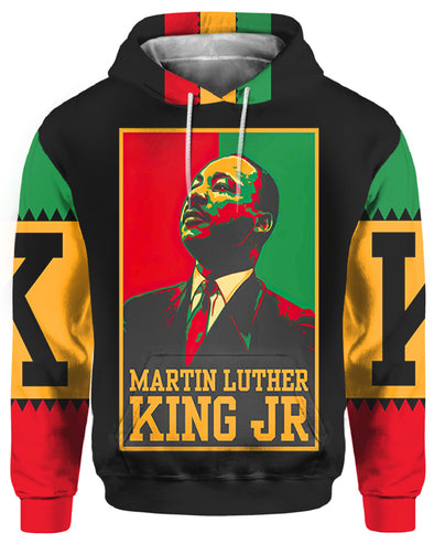Martin Luther King JR  All Over Apparel
