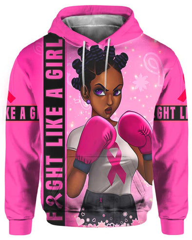 Fight Like A Girl Breast Cancer Awareness All Over Apparel 3