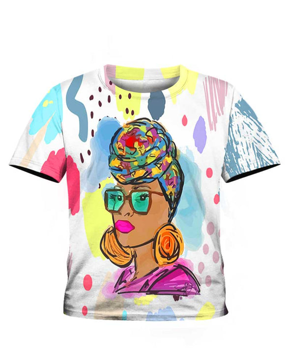 Headwrap Colorful Style All Over Apparel