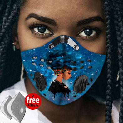 Activated Carbon Filter PM2.5 - Black Women Art