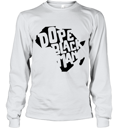 Dope Black Man Youth Long Sleeve