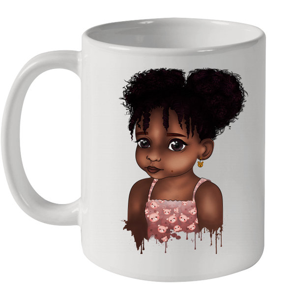 Afro Adorable Black Daughter African American Gifts Mug