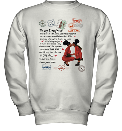 Stamps Whenever You feel - Elegant Mother To Little Daughter Youth Sweatshirt