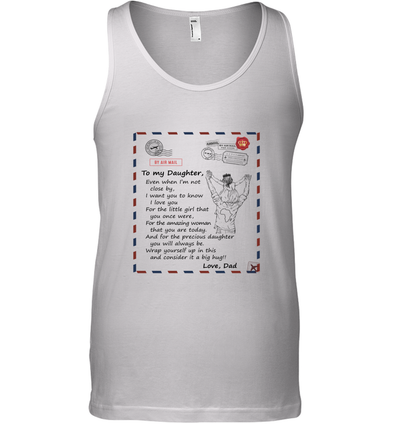Stamps I Want You To Know I Love You  - Dad to Daughter Tank Top