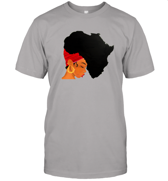 Afro Natural Hair - African Women T-Shirt