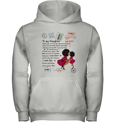 Stamps Whenever You feel - Modern Mother To Little Daughter Youth Hoodie