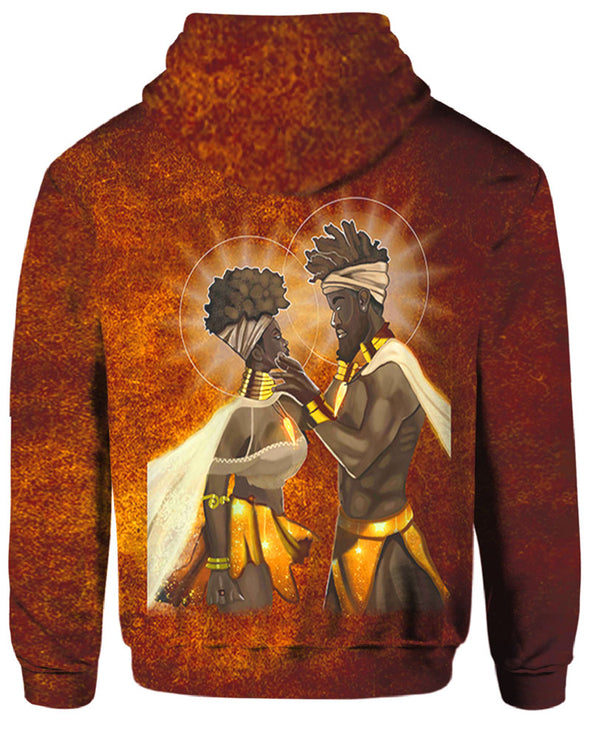 African American King And Queen All Over Apparel