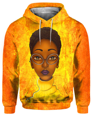 Short Hair Beauty Educated Brown Skin All Over Apparel