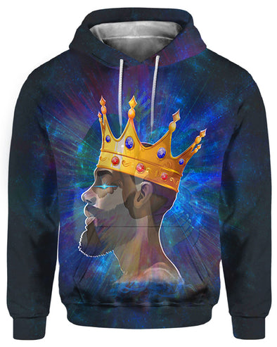 Black King In Me All Over Apparel