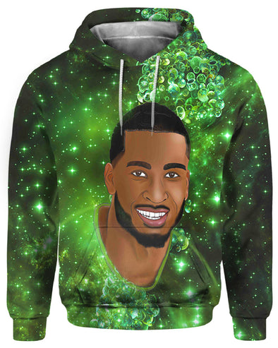 Bright Smile Strong Short Hair African Men All Over Apparel