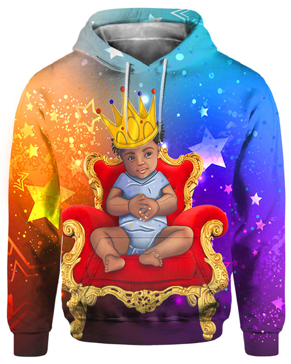 Black Beauty Baby Royal King All Over Apparel