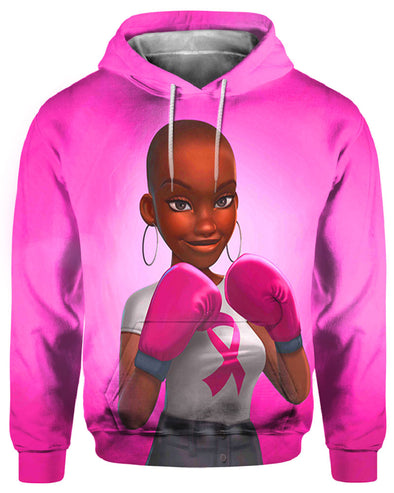 Breast Cancer Awareness Black Art All Over Apparel Black Women Are Fighters