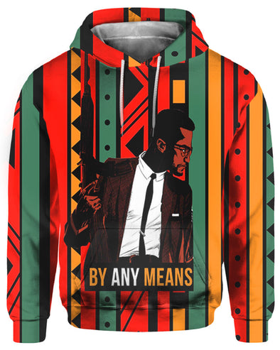 Vintage Clothing By Any Means Black African Pattern All Over Apparel