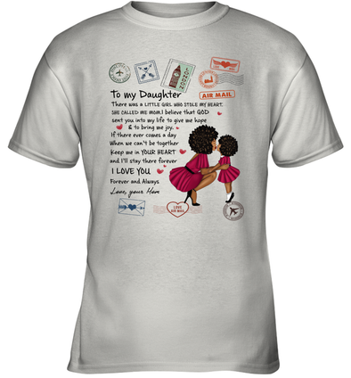 Stamps Whenever You feel - Modern Mother To Little Daughter Youth T-Shirt