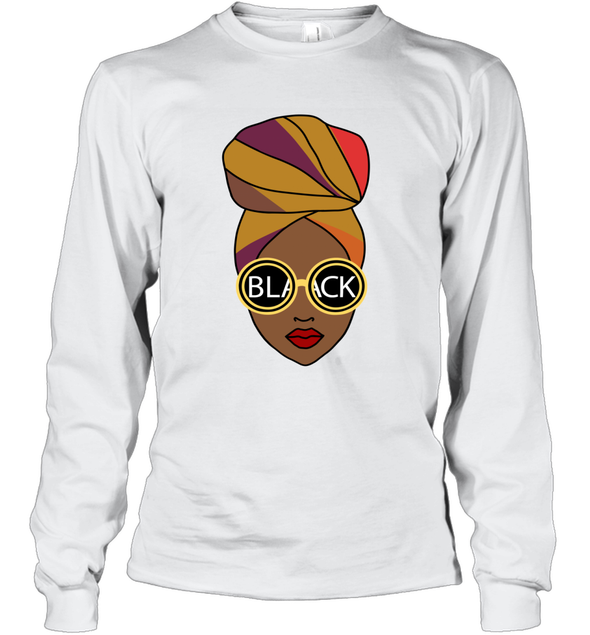 Black Girl Magic - Headwraps Long Sleeve T-Shirt