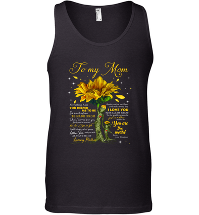 Yellow Flower You Will Always Be My Loving Mother - Daughter to Mom Tank Top