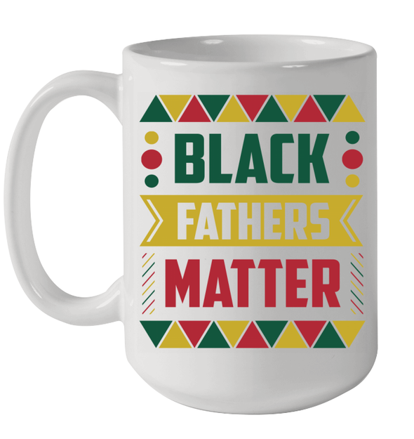 Black Fathers Matter Color Mug