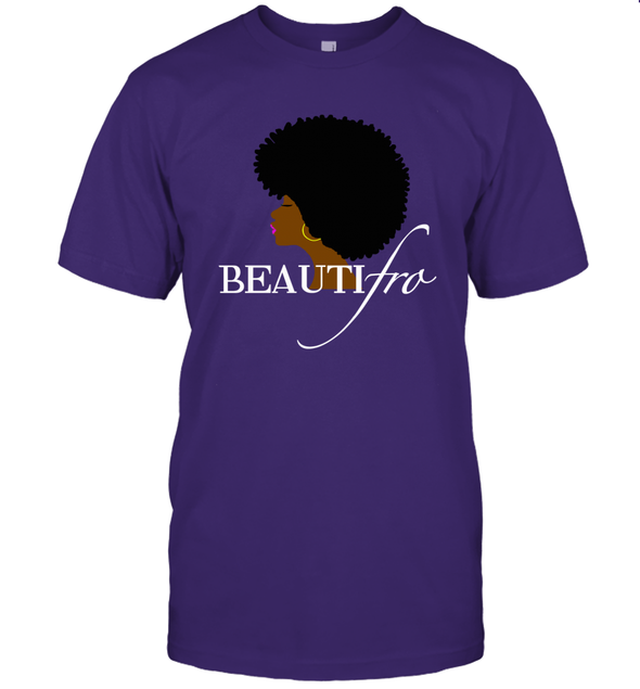 Black Women Art - Afro Beauty T-Shirt