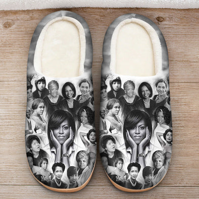 They Make Black History African American Slipper
