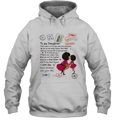 Stamps Whenever You feel - Modern Mother To Little Daughter Hoodie