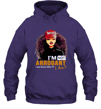 Black Beauty Art - I'm Not Arrogant Hoodie
