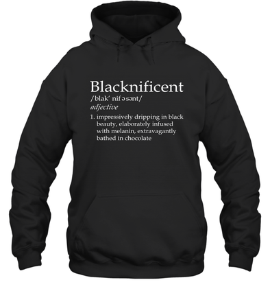 Blacknificent Definition Hoodie