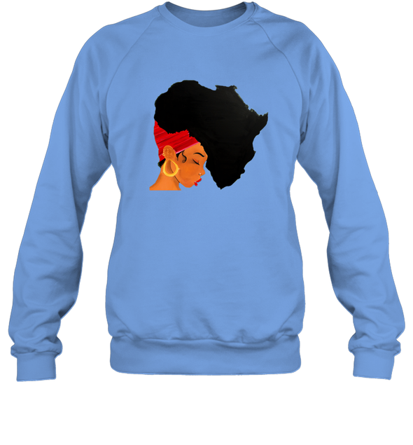Afro Natural Hair - African Women Sweatshirt