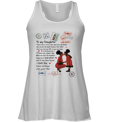 Stamps Whenever You feel - Elegant Mother To Little Daughter Racerback Tank