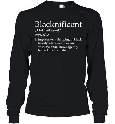 Blacknificent Definition Youth Long Sleeve