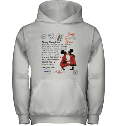 Stamps Whenever You feel - Elegant Mother To Little Daughter Youth Hoodie