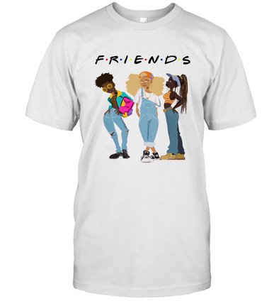 African American Black Girl Magic Friends Beauty Style Fashionable Model T-Shirt