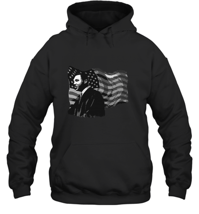 Martin Luther King American Flag Hoodie
