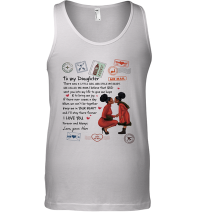 Stamps Whenever You feel - Elegant Mother To Little Daughter Tank Top