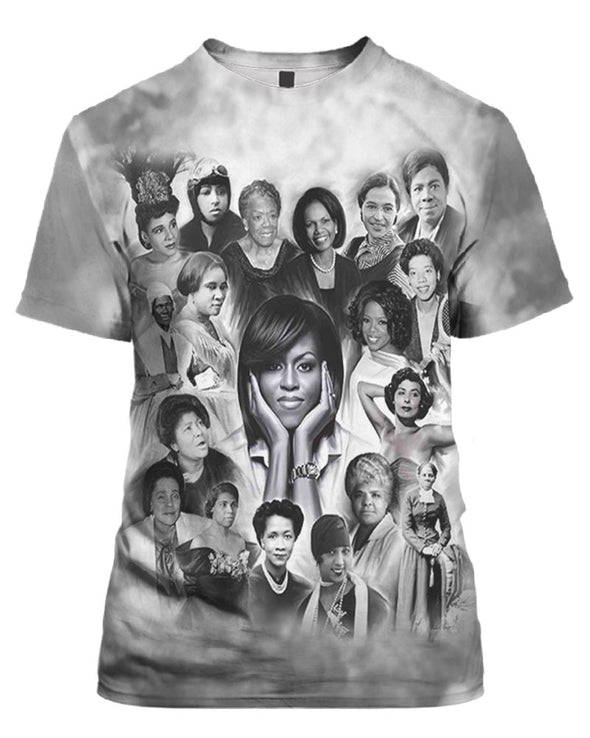 They Make Black History African American All Over Apparel